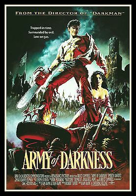 Army of Darkness FRIDGE MAGNET 6x8 Sam Remi Magnetic Movies Poster