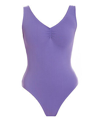 Energetiks Adult Gathered Front Leotard BNWT Jacaranda Colour AL04 Various Sizes