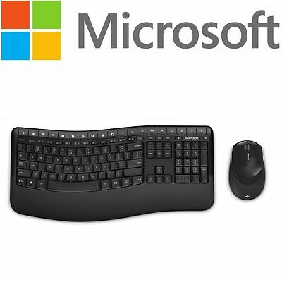 Microsoft Wireless Comfort Desktop 5050 Keyboard and Mouse Combo PP4-00020