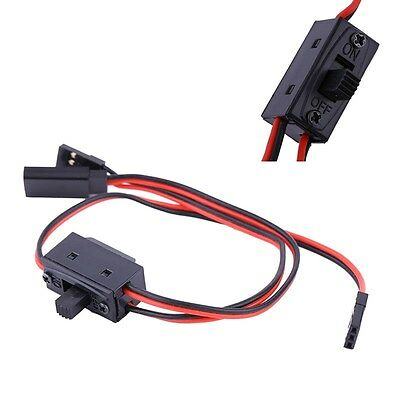 3 Way Power On/Off Switch With JR Receiver Cord For RC Boat Car Flight HOT FUTAB