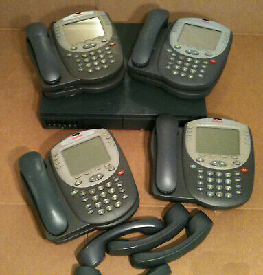 Avaya IP Office 500 V2 Business Phone System w Voice Mail & 8 Phones 700476005