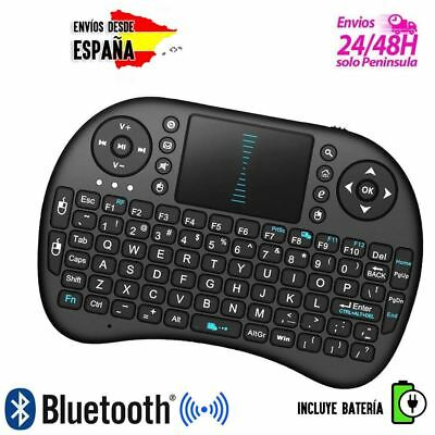 MINI TECLADO Rii i8 PARA SMART TV MXQ S805 TV WINDOWS PC PS4 RATON TOUCHPAD