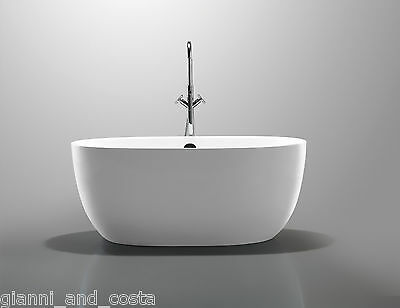 Bathroom Acrylic Free Standing Bath Tub 1700 x 800 x 580 - FREESTANDING