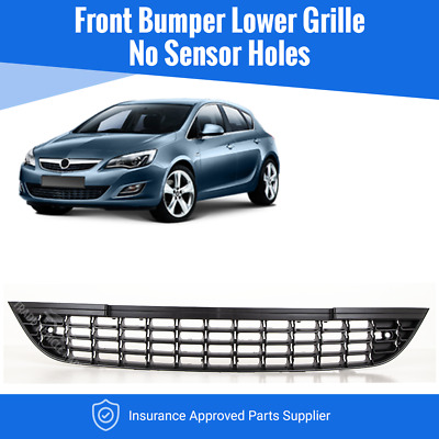 Vauxhall Astra J 5Dr 2009>2012 Front Bumper Grille Saloon/estate New