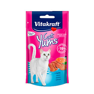 Vitakraft Yums Salmon Snack Gatos