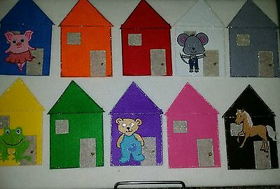 Felt Board Story Rhyme Teacher Resource - Little Mouse, Little Mouse -Colour Rec