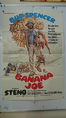 Banana Joe Original One Sheet Movie Film Poster Bud Spencer 1982 Large