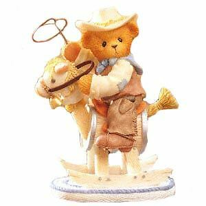 Cherished Teddies Wes - I Want To Be A Rough Rider Too 851523 NIB