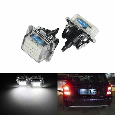 LED License Number Plate Light Mercedes Benz W204 S204 W212 S212 C207 C216 W221