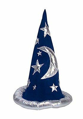 New Blue Adult or Child Wizard Hat or Merlin Hat; One Size