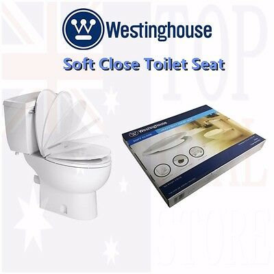 New Westinghouse Soft Close Toilet Seat Heavy Duty Quick Release Easy Install
