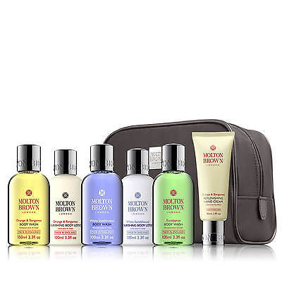 Molton Brown The Unisex Stowaway Travel Gift Set