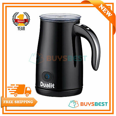 DUALIT Milk Frother 84135 Black with Chrome handle - 84135