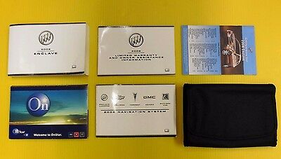 2008 buick enclave owners manual book set oem with navigation enclave suv 08 2008 buick owners owners manual set w navigation manual sciox Gallery