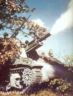 COLOR WWII Photo US Army M7 Priest Photo Howitzer WW2 World War Two US Army