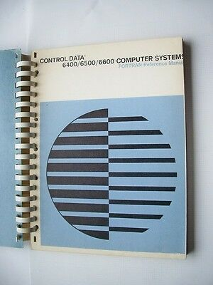 CONTROL DATA CDC 6400/6500/6600 FORTRAN Reference Manual