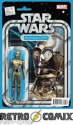 Marvel Star Wars #5 Action Figure Variant New/unread Bagged & Boarded