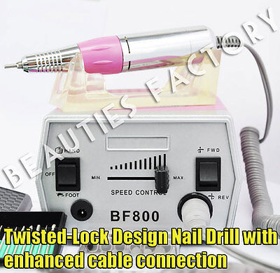 Nail Art Electric File Drill Bits Replacement Manicure Pedicure Kit Tool 800B