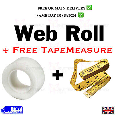 Hemming Tape Large 7m Long Roll Wonder Web 2cm Wide Just Iron With