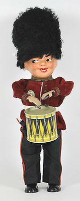 Guardia Real Doll Automata Celluloid. West Germani. Xx Century.