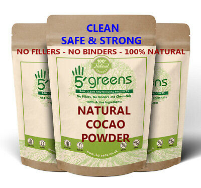 Organic Cacao / Cocoa Powder RAW / CRIOLLO ,High Quality Grade A Organic 5greens