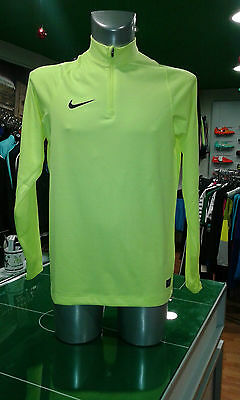 Soccer Jersey Football Training Midlayer Drill Top Yellow Fluo 2016