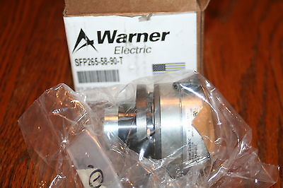 Warner Electric SFT265-58-90-T 90VDC 5/8 Clutch NEW