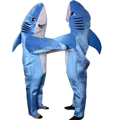 Cartoon Whale Shark Mascot Costume Material Fancy Dress Adult Size Party Cosplay