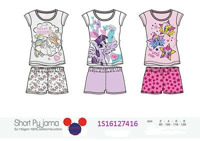 Offerta Completo Intimo Pigiama Bimba Ragazza My Little Pony Originale Colorato