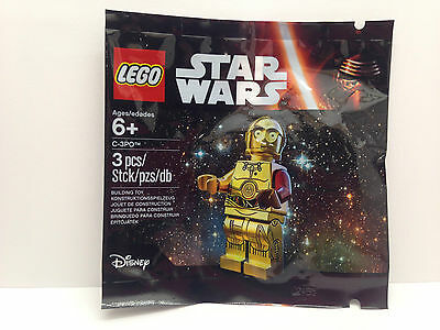 LEGO 5002948 - Star Wars Minifigure VIP Exclusive C-3PO Red Arm / Polybag