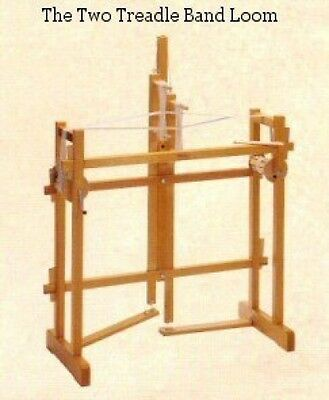 Band Loom by Glimakra- 2 treadle/2 shaft-also for Inkle