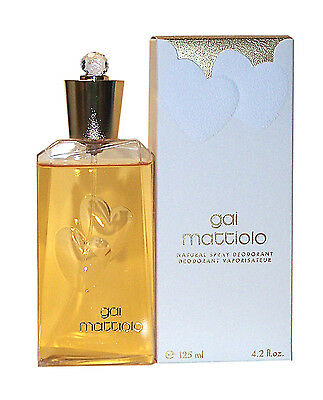 (Grundpr 100ml/15,96€) Gai Mattiolo WOMAN Deodorant Natural Spray 125 ml Neuware