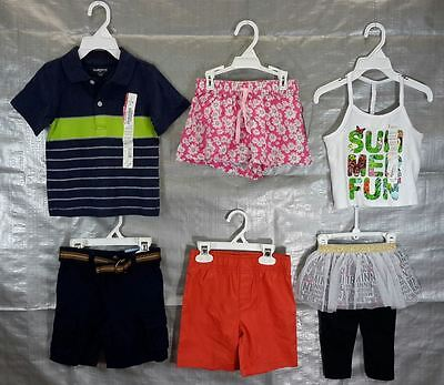 Wholesale Lot 100 Assrtd Childrens Clothing Brand New Infants Toddlers FREE SHIP