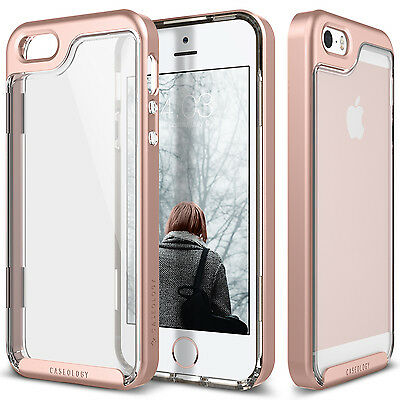 Caseology® [SKYFALL] Fusion Clear Back Case Cover For Apple iPhone SE 5S 5