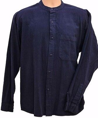 Grandad Shirt Button Through Classic. Quality never an issue 30 years of quality