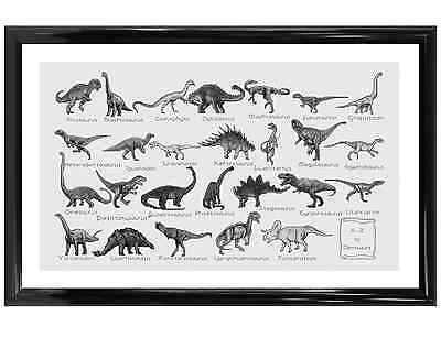 A - Z Of Dinosaurs - Counted Cross Stitch Kit