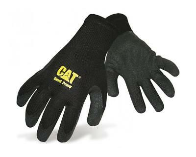 Cat Caterpillar Thermal Knitted Gripper Work Gloves