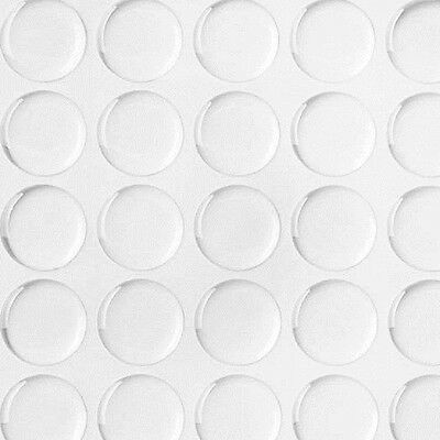 "New 3D Crystal Clear Stickers Circles Epoxy Adhesive 20/40/60/100 Pcs 1"" Round"