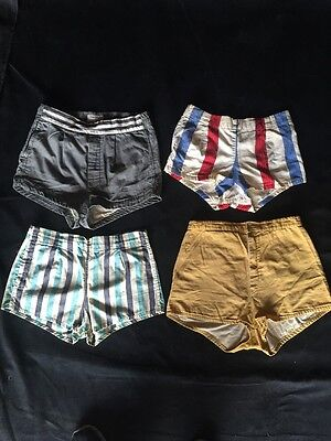 Vintage Lot 1950's Mens Swim Shorts