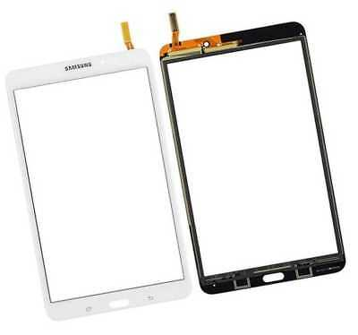 White Touch Screen Digitizer+Adhesive for Samsung Galaxy Tab 4 8.0 SM T330 T337A