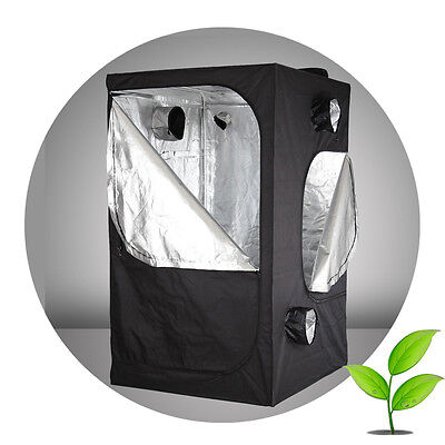 Hot Sale 1.2 x 1.2 x 2.0m Hydroponics Grow Tent Indoor Bud Dark Room Hut Box