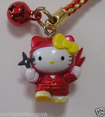 Hello kitty Ninja Kitty min key chain Sanrio Original from JAPAN