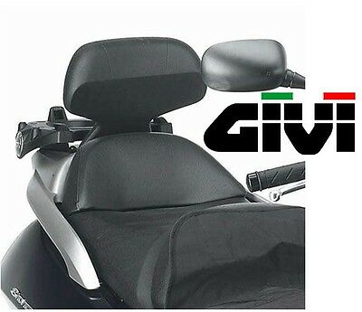 Backrest Passenger LHD Givi Kymco Downtown 125 300 Seatback MAXISCOOTER New Tb82