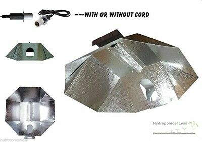 PowerPlant UltraLite Grow Reflector Umbrella Ballasts Hydroponics like Parabolic