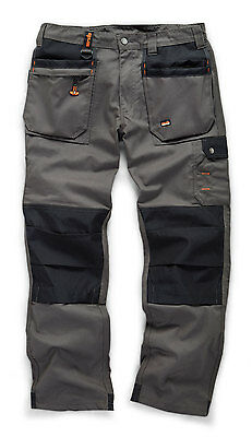 Scruffs WORKER PLUS Graphite Grey Work Trousers (All Sizes) Trade Hardwearing
