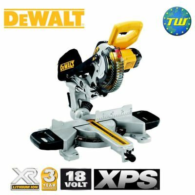 DeWalt DCS365N 18V 184mm Cordless Mitre Saw with XPS & Blade Body Only Bare Unit