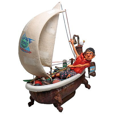 "GUILLERMO FORCHINO ""SHIP AHOY - NAVIRE EN VUE"" Comic Art Skulptur, Figur FO85077"