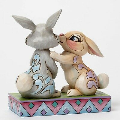 "DISNEY TRADITIONS - ""THUMPER & MISS BUNNY"" - tolle Jim Shore Figur 4043667 NEU !"