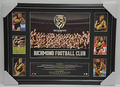 Richmond Tigers 2016 Official AFL Team Super Frame Dustin Martin Trent Cotchin
