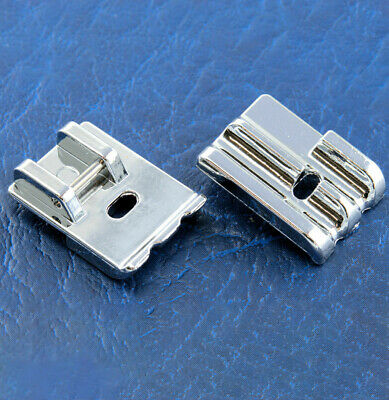 DOUBLE WELTING Piping Cording FOOT - For Domestic Sewing Machines Snap on